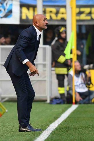 L'allenatore nerazzurro Spalletti (La Presse)