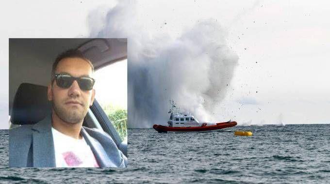 Il capitano Gabriele Orlandi aveva 36 anni