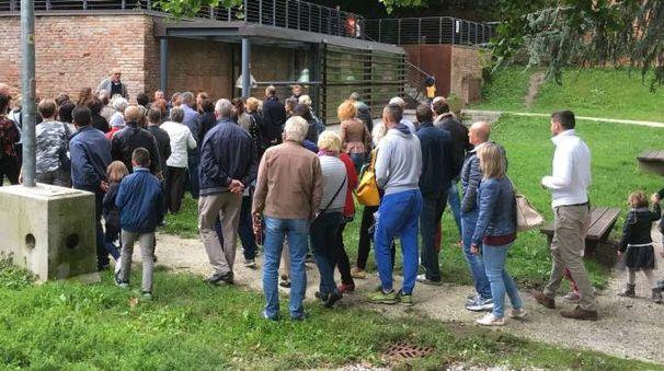 I turisti in fila