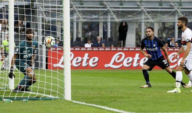 Inter-Genoa 1-0, D'Ambrosio (Ansa)