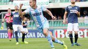 Verona-Lazio 0-3, Marusic (LaPresse)