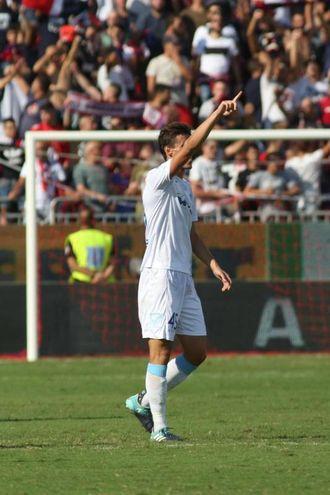 Cagliari-Chievo 0-1, Inglese (Ansa)