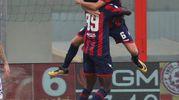 Crotone-Benevento 2-0, Rodhen (Ansa)