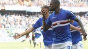Sampdoria-Milan 1-0, Zapata (LaPresse)