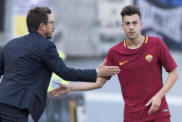 Roma-Udinese 2-0, El Shaarawy (Afp)