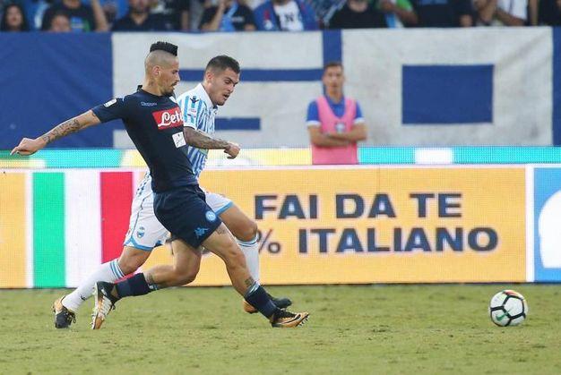 Spal-Napoli 2-2, Viviani (Ansa)