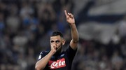 Spal-Napoli 2-3, Ghoulam (Afp)