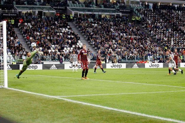 Juventu-Torino 2-0, Pjanic (LaPresse)