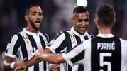 Juventus-Torino 3-0, Alex Sandro (Afp)