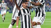 Juventus-Torino 4-0, Dybala (Ansa)