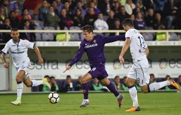 Fiorentina-Atalanta 1-1, Chiesa (Ansa)
