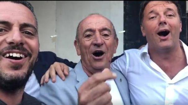 Mirko, Raoul Casadei e Matteo Renzi