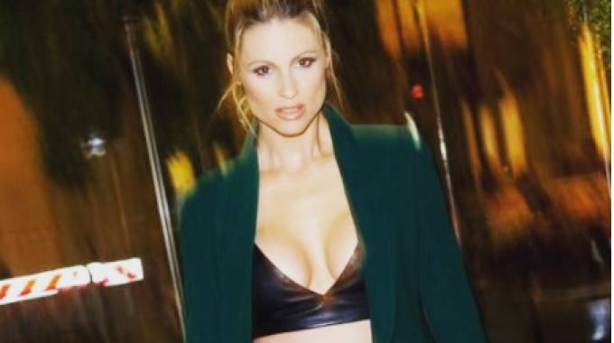 Lo scatto di Michelle Hunziker (Instagram)