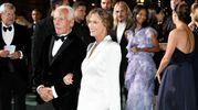 Green Carpet Fashion Awards, Lauren Hutton e Giorgio Armani (Newpress)