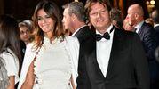 Green Carpet Fashion Awards, Sara Cavazza Facchini col marito (Newpress)