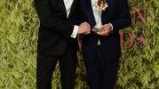 Colin Firth e Brunello Cucinelli