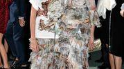 Green Carpet Fashion Awards, Maria Grazia Cucinotta e la figlia Giulia (Newpress)