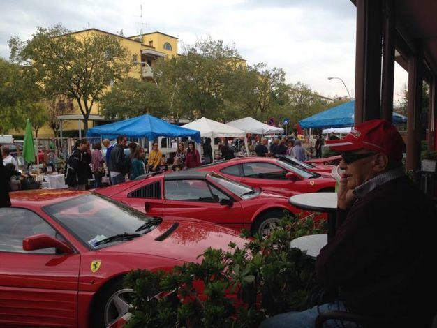 L'esposizione di Ferrari
