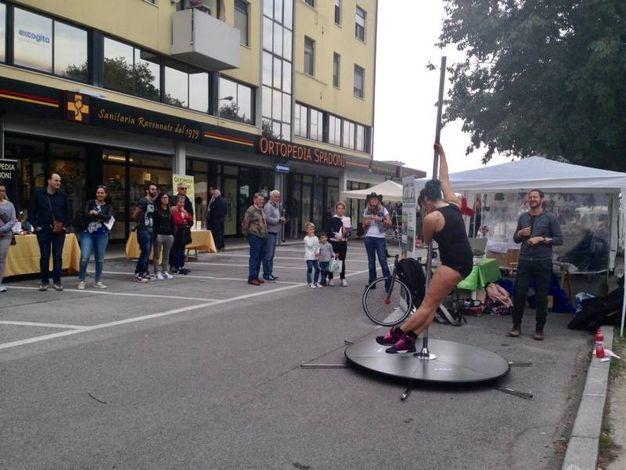 Esibizione di Pole Dance