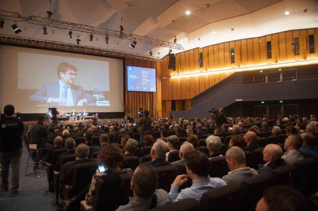 Cersaie, il convegno inaugurale (foto Schicchi)
