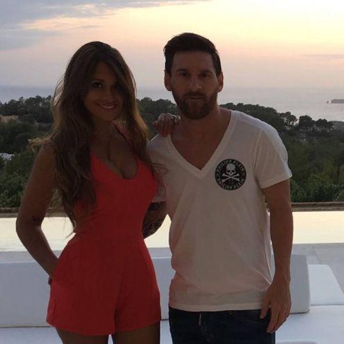 Antonella Roccuzzo, moglie di Messi del Barcellona (Instagram)