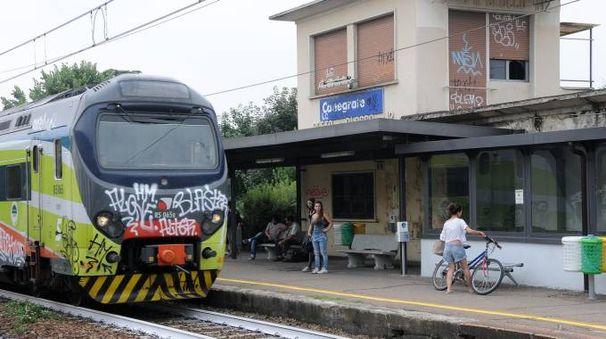La stazione di Canegrate (Studio Sally)