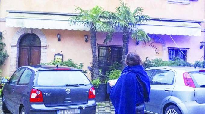 La facciata  del ristorante  Il Lurido (foto Petrangeli)