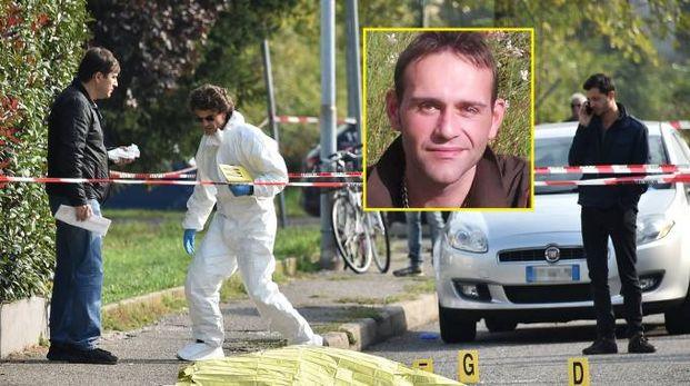 Omicidio a Legnano, nel riquadro la vittima Gennaro Tirino (Studiosally)