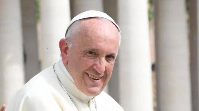 Papa Francesco sarà a Bologna domenica 1 ottobre (foto Ansa)