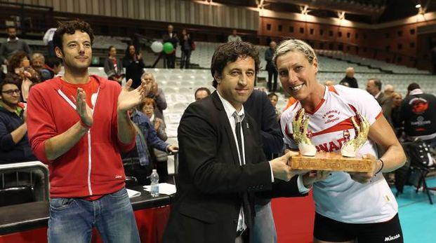 Match amichevole fra Olimpia Teodora-Perugia (foto Zani)