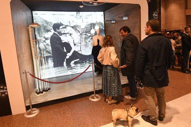 In Galleria Cavour si è aperta la Night Design Week con l' inaugurazione della mostra Milleluci (foto Schicchi)