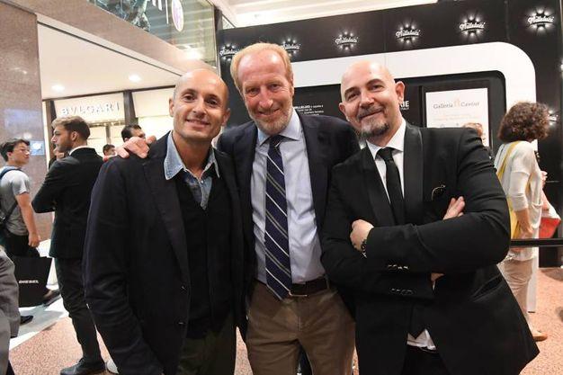 Massimiliano Bianco, Maurizio De Vito Piscicelli e Angelo Dall'Aglio (foto Schicchi)