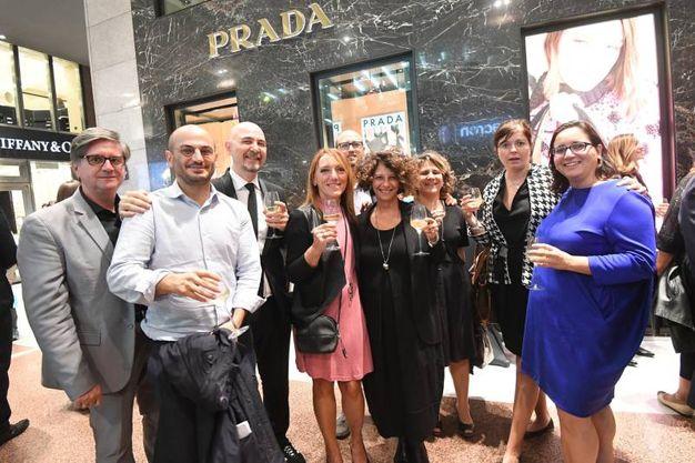 Grande spettacolo in galleria Cavour con la mostra Milleluci (foto Schicchi)