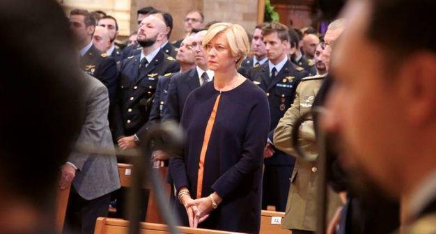 Il ministro Roberta Pinotti (foto Ravaglia)