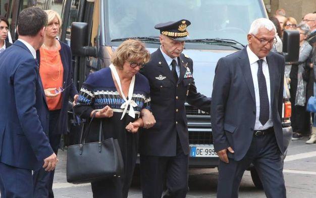 I genitori di Gabriele Orlandi (foto Ravaglia)
