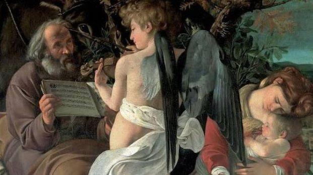 Uno dei dipinti di Caravaggio