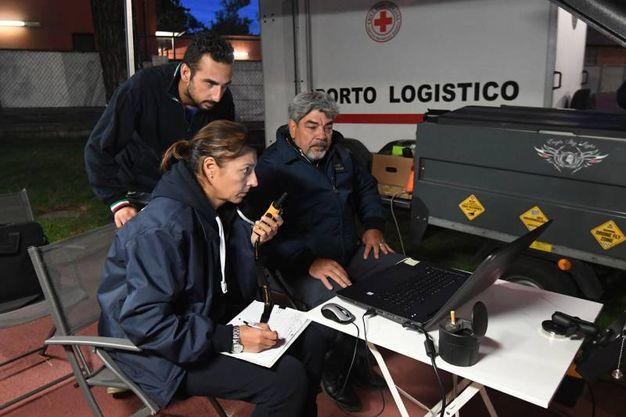 Il team responsabile della gestione del drone (Schicchi)