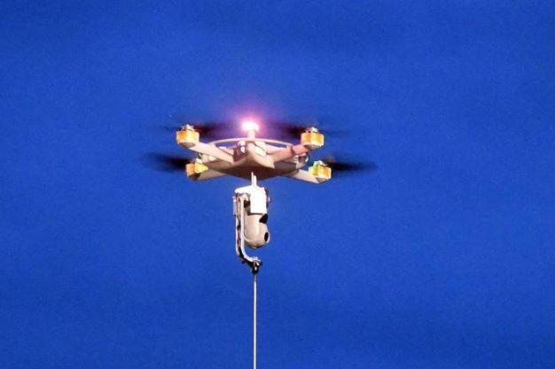 Il sofisticato drone in dotazione alla Croce Rossa (Schicchi)