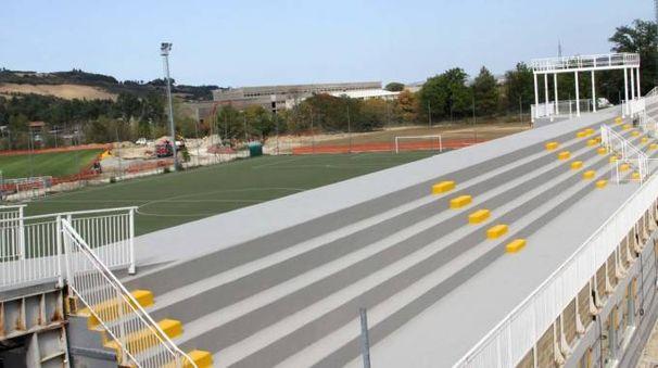 I campi di allenamento dell'Ascoli