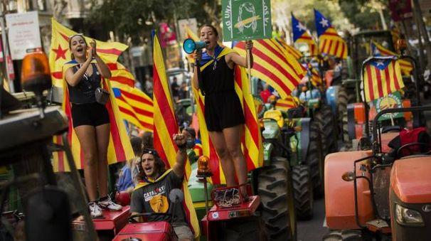 Referendum Catalogna (Ansa)