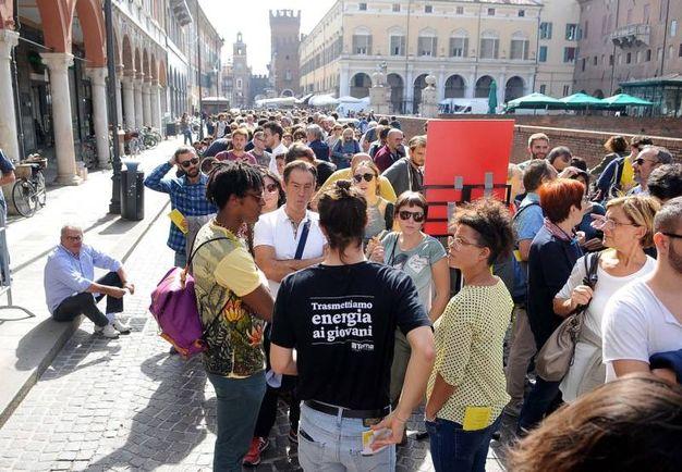 Quest'anno il festival di Internazionale a Ferrara, giunto alla sua undicesima edizione (foto Businesspress)