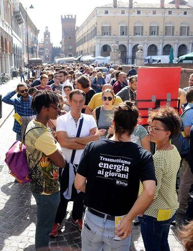 Il pubblico del festival potrà ascoltare e incontrare giornalisti, studiosi, scrittori, fotografi e artisti provenienti da tutto il mondo (foto Businesspress)