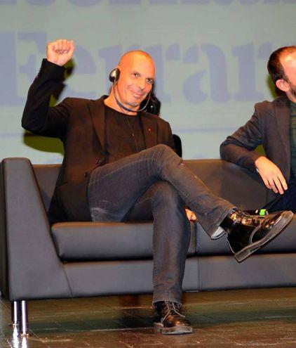 Il saluto al pubblico (foto Businesspress)