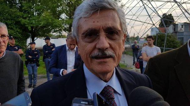 Massimo d'Alema alla festa Mdp di Bologna (Dire)