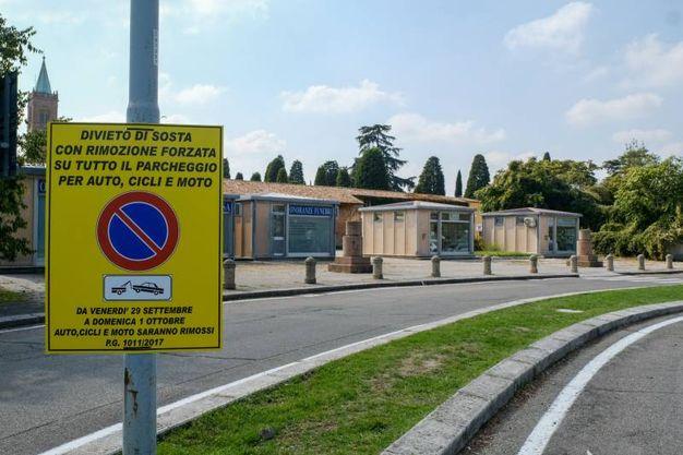 Anche nella zona della Certosa sarà vietato parcheggiare (foto Schicchi)