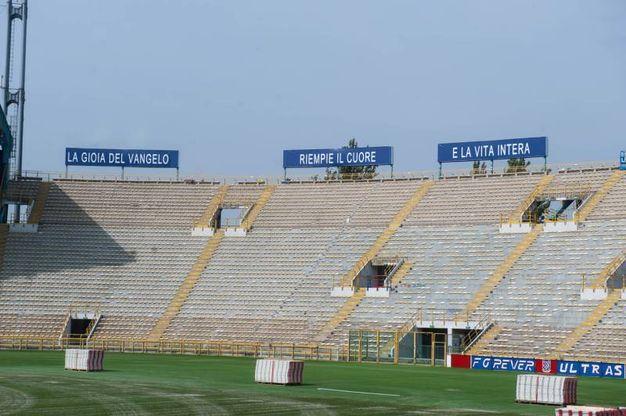 Allo stadio sono attesi 45mila fedeli