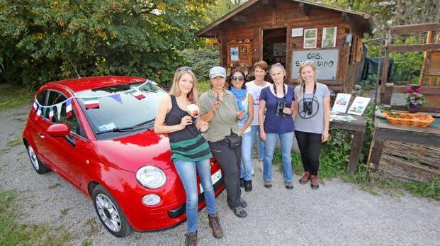 Fiona, Ruth, Annette e Olivia ospiti dell'Oasi Smeraldino