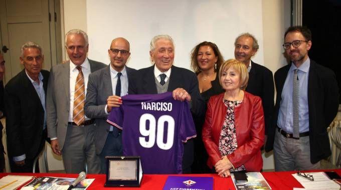 La festa per Narciso Parigi (Umberto Visintini / New Press Photo)