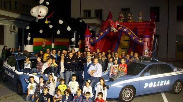 Una giornata di festa per poliziotti e familiari