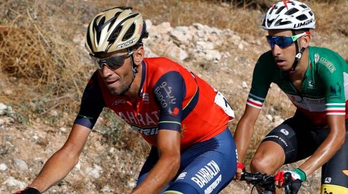Vincenzo Nibali e Fabio Aru